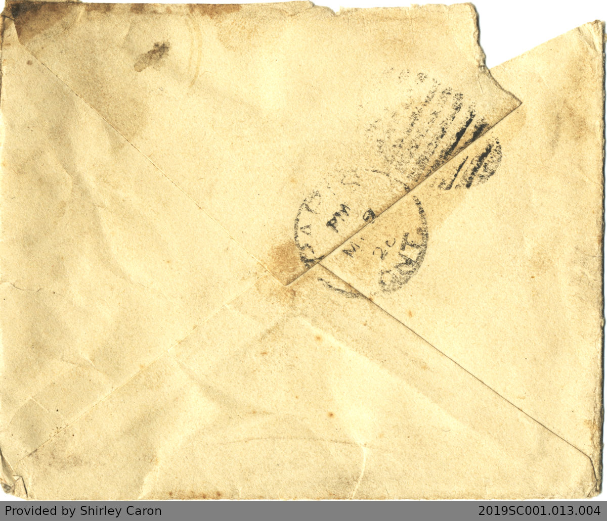 Letter to William Clarke from Auntie Ada Mason