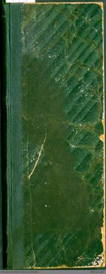 Chamberlain Ledger Book, 1872-1873
