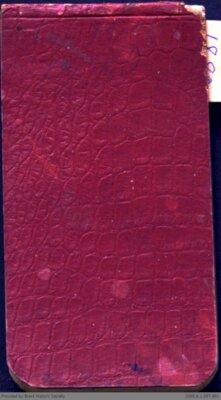 Chamberlain Ledger Book, 1880