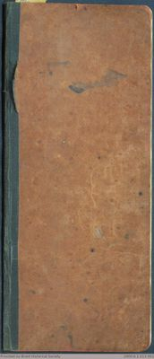 Chamberlain Ledger Book, 1888-1889