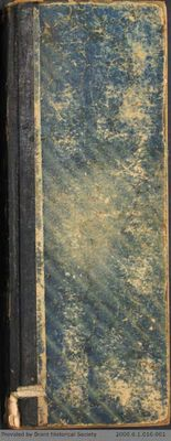 Chamberlain Ledger Book, 1892-1894