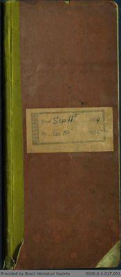 Chamberlain Ledger Book, 1894-1895