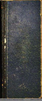 Chamberlain Ledger Book, 1895-1897