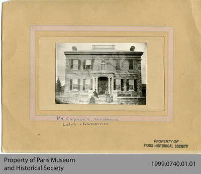 Hiram Capron's Stone House