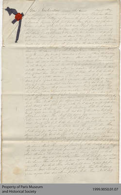 Indenture of Water Privilege between Hiram Capron & Hugh Finlayson