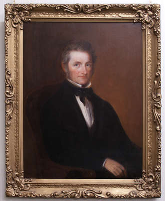 Portrait of Hiram Capron