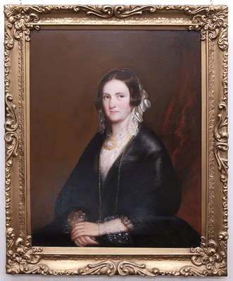 Portrait of Mary De Long Capron