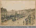 Parade on East Side of River St, late 1800s