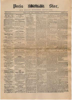 The Paris Star, February 11, 1852
