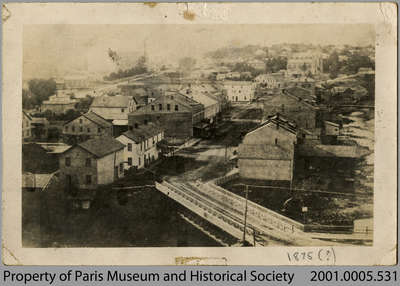 View of Paris c. 1875