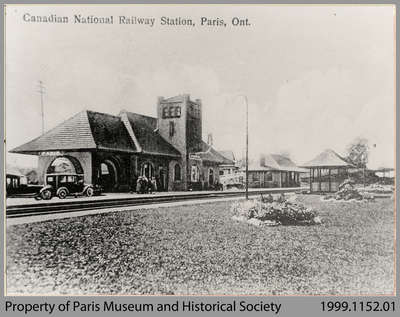 Paris Railway Station, c. 1928