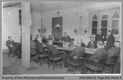 Meeting of Paris Town Council, 1879