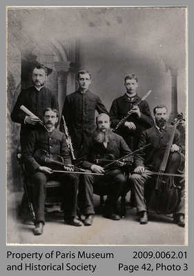 The Paris Quintette Club, c. 1885