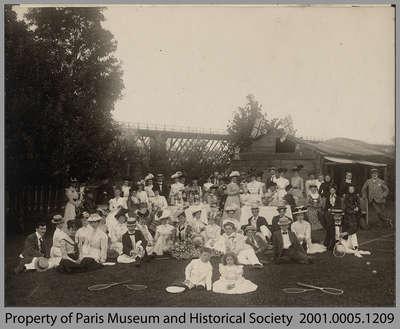 The Paris Tennis Club, 1901