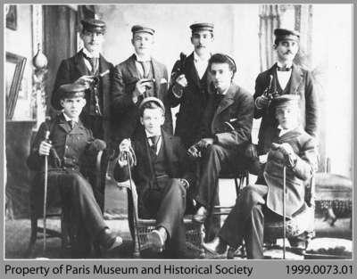 Paris Old Boys, March 8, 1894