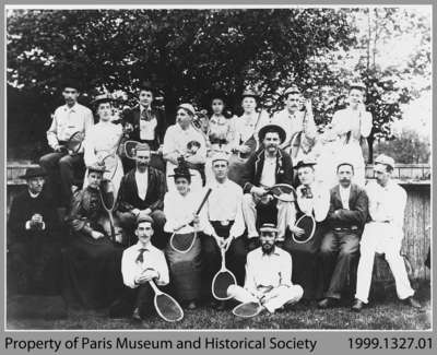 Paris Tennis Club, c. 1895
