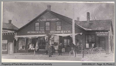 Rehder & Co. General Store, Market Street, c. 1905
