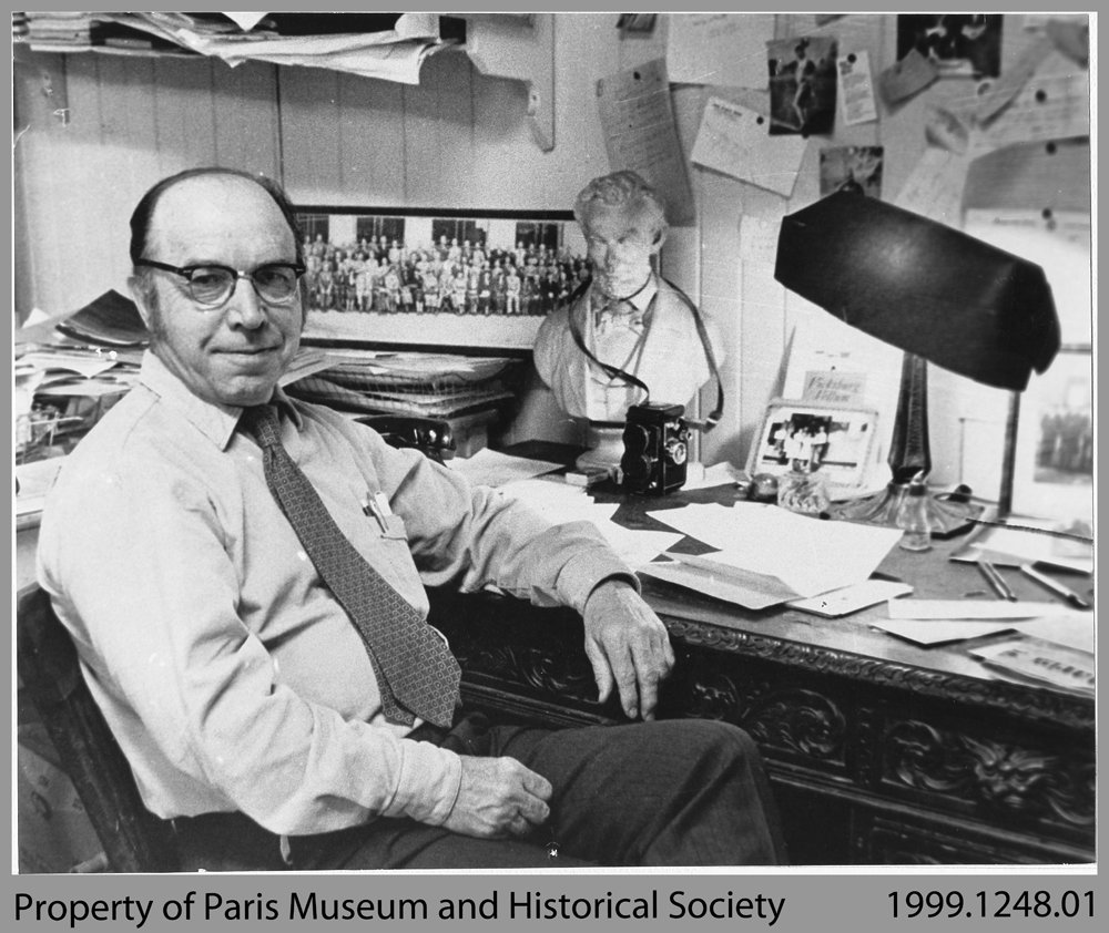 John P. Pickell, Owner and Editor of The Paris Star, 1944-1978