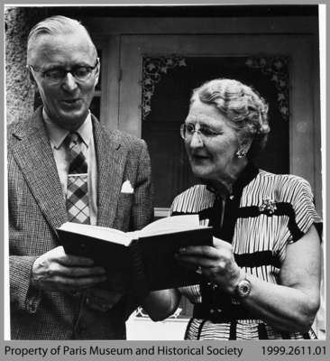 Donald. A. Smith and Gladys Steuart-Jones, 1956