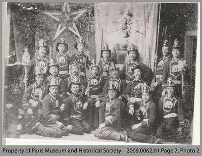 19th Century Paris Fire Brigade
