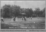 Cricket Players in Riverview Park, Paris, c. 1910