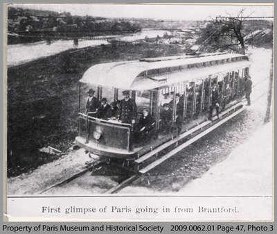 Grand Valley Railway Car, South Paris