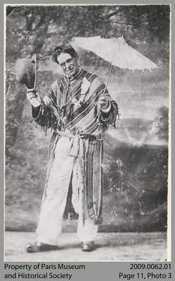 "Robert ""Bobby"" West in Costume"