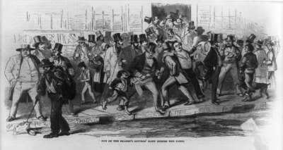 A Bank Run during the Panic of 1857
