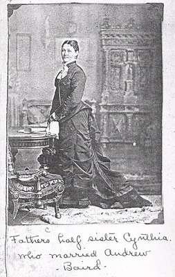 Cynthia Capron Baird, daughter of Horace Capron