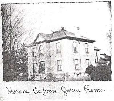 Horace Capron's Farm House, Paris, Ontario