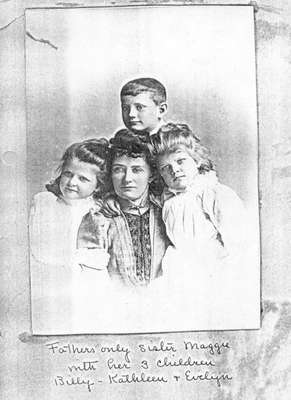Margaret Capron Russell and Children
