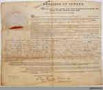 John Tufford Land Indenture, 1857