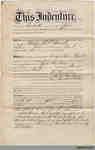 Deed between Philip W.J. Havill and the Canada Permanent BuildingSavings Society, 1873