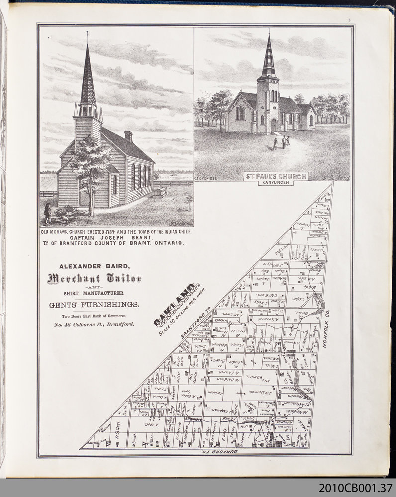 Brant County Illustrated [Atlas]