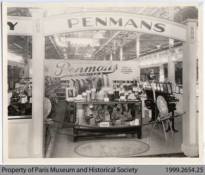 1932 Penmans Process Exhibit, Toronto Canadian National Exhibition
