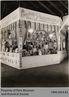 1927 Penmans Clothing Display, Sherbrooke