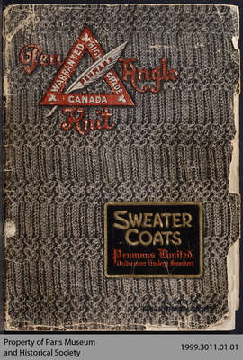 Penmans Sweater Coats Catalogue for 1911