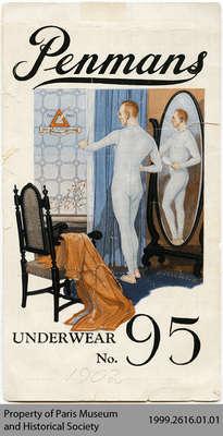 1902 Penmans Underwear no. 95 Series Advertisement