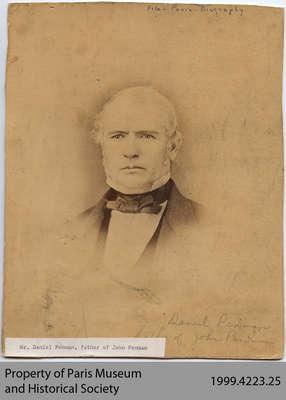 Daniel Penman, father of John Penman