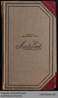 Penmans Benefit Society Minutes Book, 1911 - 1919