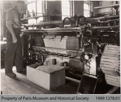 Walter Bemrose by Dubied Knitting Machine, Penmans Sweater Mill, Paris, c. 1935