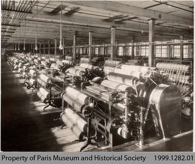 Penmans Carding Department, 1935