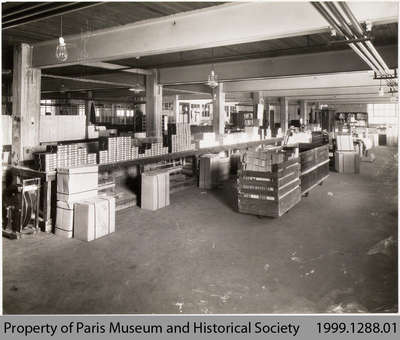 Penmans Hosiery Shipping Department, c. 1935