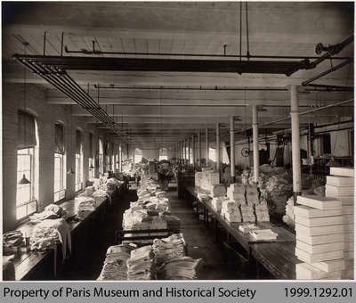 Penmans #2 Mill Folding & Boxing Department, c. 1935
