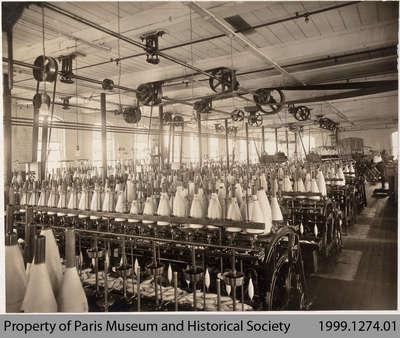 Penmans Yarn Winding Machinery, #2 Mill, c. 1910
