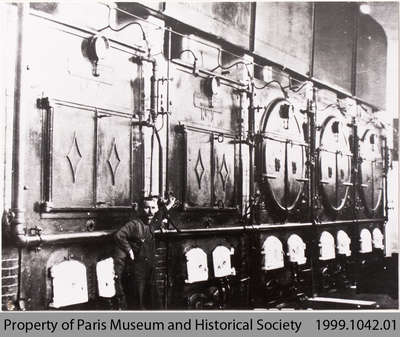 Furnaces and Boilers in Penmans Power House