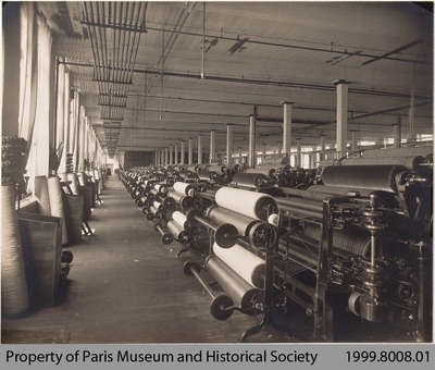 Penmans Flats Mills Engine Room, c. 1912
