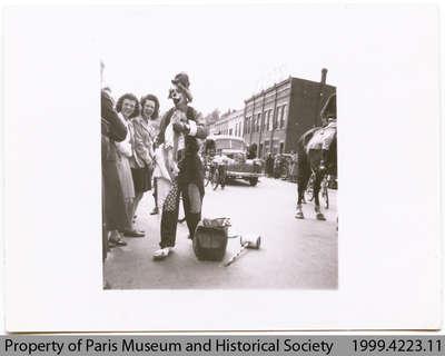 Penmans Clown with Women, c. 1940s?