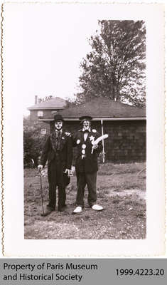 Mel Boyce and Noel Jones, Penmans Clowns, c. 1940s?