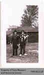 Mel Boyce and Noel Jones, Penmans Clowns, c. 1940s?